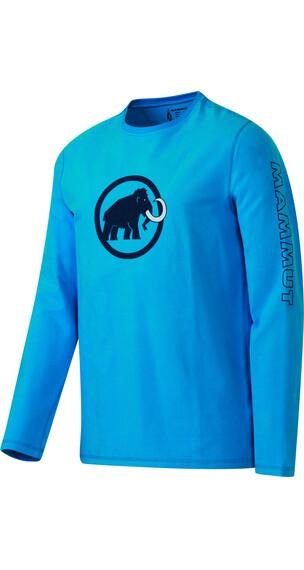 Mammut Snow Longsleeve Shirt Men atlantic